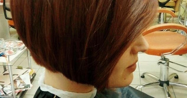 Кератиновое восстановление, полировка волос с контурной стрижкой и укладкой в «Гламур»