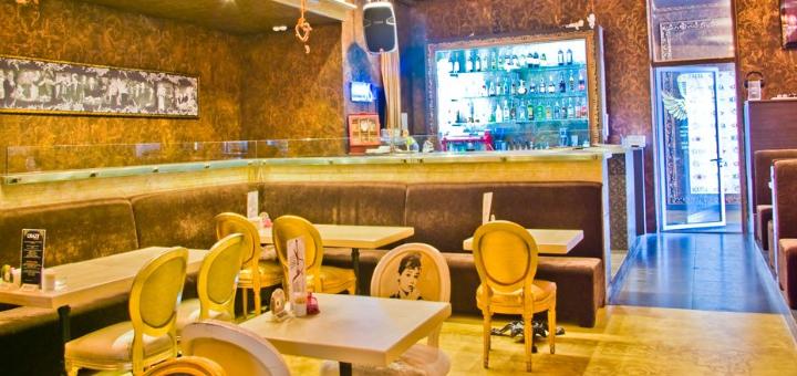 Скидка 50% на все меню кухни в семейном ресторане «Mafia» в ТРК «Украина»