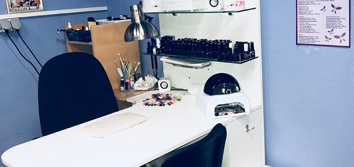 Покрытие ногтей гелем в студии красоты «KrisStyle»