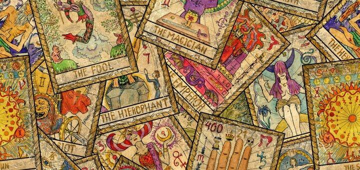 Онлайн-расклад на картах Таро «Тайны Хеллоуина» от таролога Екатерины Ратии
