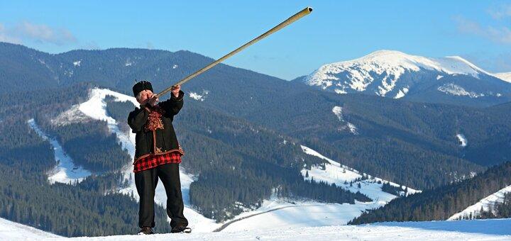 От 5 дней зимнего отдыха на Рождество в усадьбе «Гуцульский край» в Карпатах