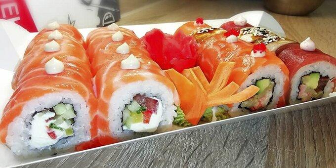 Сертификаты на роллы, суши, гунканы в суши-баре «Пан-Кемон»