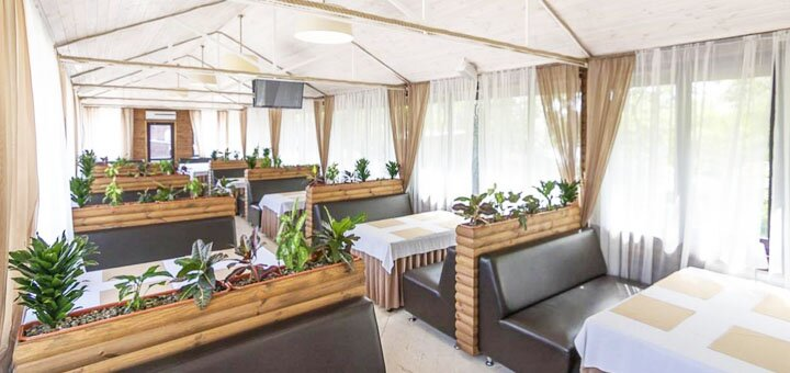 От 2 дней отдыха в развлекательном комплексе «Галера» на берегу Днепра