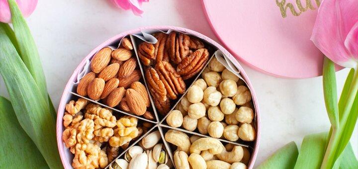 Скидка 10% на набор из шести орешков