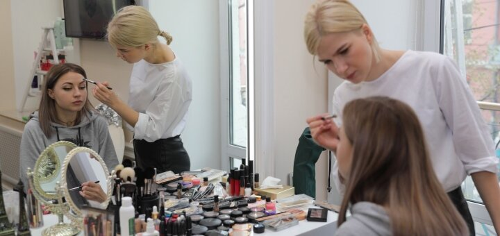 Дневной, вечерний, свадебный или обучающий макияж в студии красоты «AVRA beauty studio»