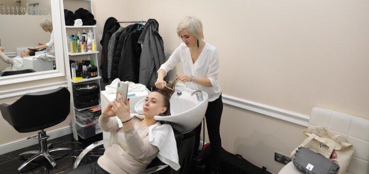 Частичное мелирование волос в студии красоты «AVRA beauty studio»