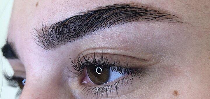 Моделирование, коррекция и окрашивание бровей в студии красоты «Mandarin Nail Studio»