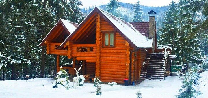 От 4 дней горнолыжного отдыха с питанием в экологичных домах в «Drin-Lux» в Славском