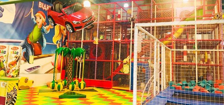 Посещение детской площадки «Джунгли» в ТРЦ «Dream Town 1»