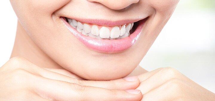 Ультразвуковая чистка зубов и «Air-flow EMS» с фторированием зубов в «Healthy Dentistry»