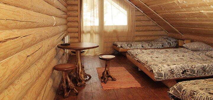 От 4 дней отдыха зимой с питанием в усадьбе «Виват» в Карпатах