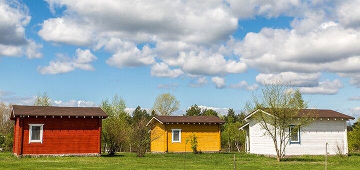 От 2 дней отдыха в будни в загородном эко-комплексе «Авантюрист» на берегу Десны под Киевом
