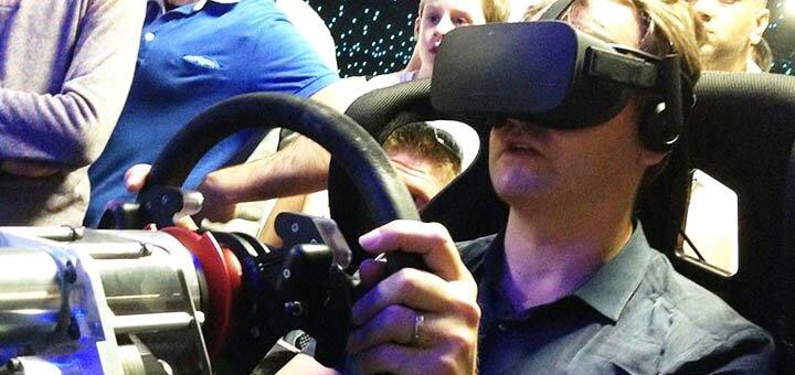 Скидка 60% на один час игры на аттракционе виртуальной реальности «Virtual Racing»