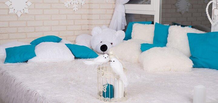 Новогодняя индивидуальная фотосессия «Зимние фантазии» в новой фотостудии от Жени Лайта
