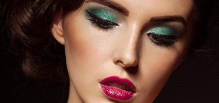 Вечерний макияж от студии стиля «Nova Vita»