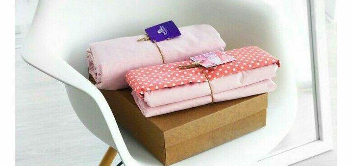 При покупке любого комплекта постельного белья - декоративные подушки в подарок