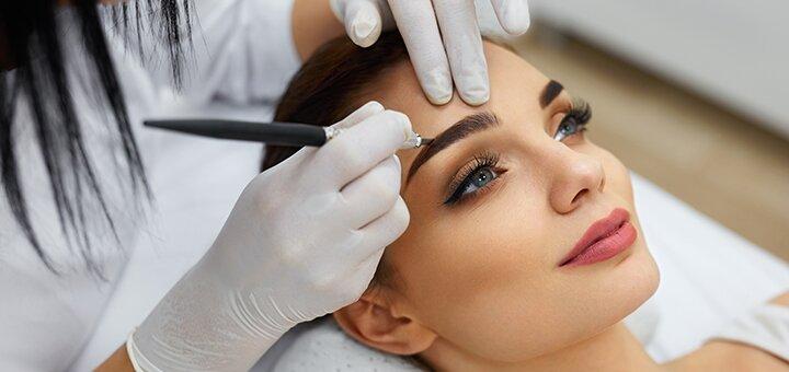 Перманентный макияж бровей или губ в студии перманентного макияжа «KORINA MARIA PM»
