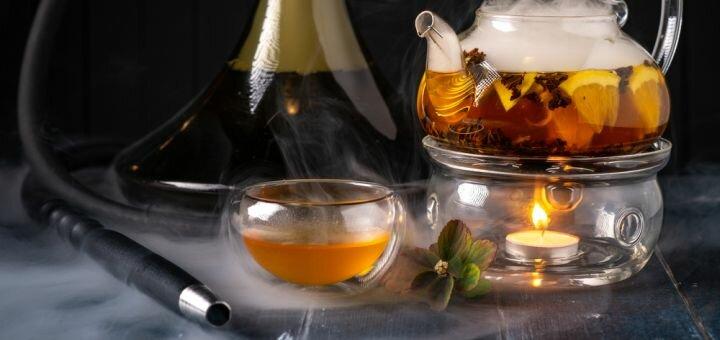 Кальян «Darkside» и чай в стейк-хаусе «Over Dose»