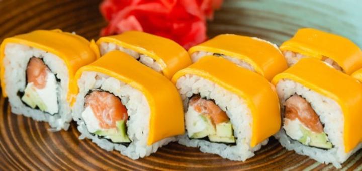 Скидка 50% на все меню кухни от суши-бара «Why Not»