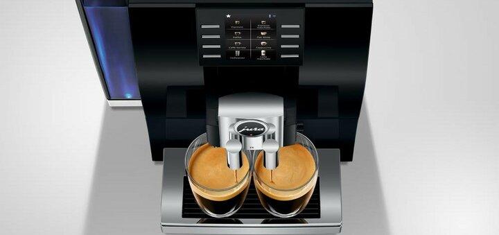 Скидка 30% на аренду кофемашины премиум класса «Jura»