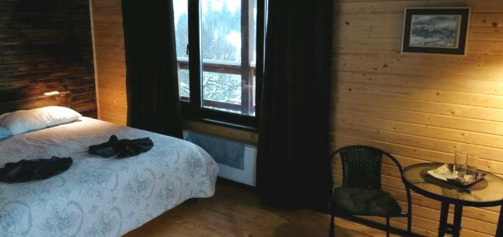 От 3 дней отдыха зимой с завтраками в отеле «Agora Chalet» в Славском
