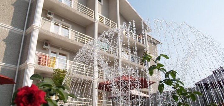 От 3 до 11 дней отдыха в отеле «Анна Мария» в Курортном под Одессой! 100 метров от моря, бассейн на территории!
